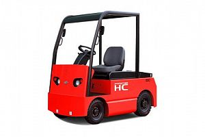 Electric Tow tractor 10-15t class=
