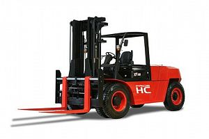 XF series 8.0-10t Internal Combustion Counterbalanced Forklift Truck class=